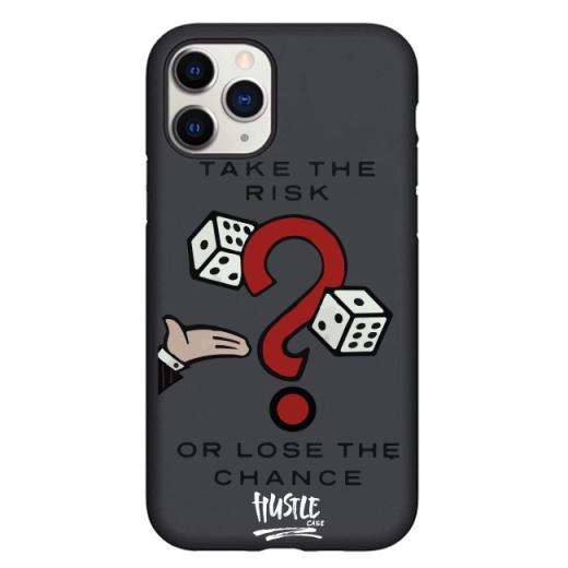 Чехол Hustle Case Monopoly Take the risk Black для iPhone 12 Pro Max