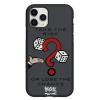 Чехол Hustle Case Monopoly Take the risk Black для iPhone 12 | 12 Pro