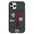Чехол Hustle Case Monopoly Take the risk Black для iPhone 12   12 Pro