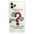 Прозрачный чехол Hustle Case Monopoly Take the risk Clear для iPhone 12 Pro Max