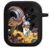 Силиконовый чехол Hustle Case Scrooge Black для AirPods 1   2