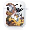 Прозрачный силиконовый чехол Hustle Case Scrooge Clear для AirPods 1 | 2