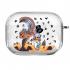 Прозрачный силиконовый чехол Hustle Case Scrooge Clear для AirPods Pro