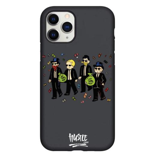 Чехол Hustle Case Monopoly Squad Black для iPhone 12 Pro Max