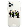 Прозрачный чехол Hustle Case Monopoly Squad Clear для iPhone 12 | 12 Pro