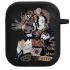 Силиконовый чехол Hustle Case Tiger Black для AirPods 1 | 2