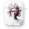 Прозрачный силиконовый чехол Hustle Case Gorgona Clear для AirPods 1   2