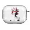 Прозрачный силиконовый чехол Hustle Case Gorgona Clear для AirPods Pro