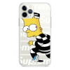 Прозрачный чехол Hustle Case Bart Prison Clear для iPhone 12 Pro Max