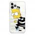 Прозрачный чехол Hustle Case Bart Prison Clear для iPhone 12   12 Pro