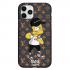 Чехол Hustle Case Bart LV Black для iPhone 12   12 Pro