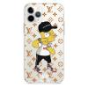 Прозрачный чехол Hustle Case Bart LV Clear для iPhone 12 Pro Max