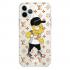 Прозрачный чехол Hustle Case Bart LV Clear для iPhone 12   12 Pro