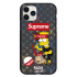 Чехол Hustle Case Simpsons Bart Supreme Black для iPhone 12 | 12 Pro