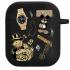 Силиконовый чехол Hustle Case Custom Black для AirPods 1 | 2