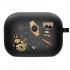 Силиконовый чехол Hustle Case Custom Black для AirPods Pro
