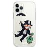 Прозрачный чехол Hustle Case Monopoly Umbrella Clear для iPhone 12   12 Pro