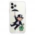 Прозрачный чехол Hustle Case Monopoly Umbrella Clear для iPhone 12 | 12 Pro