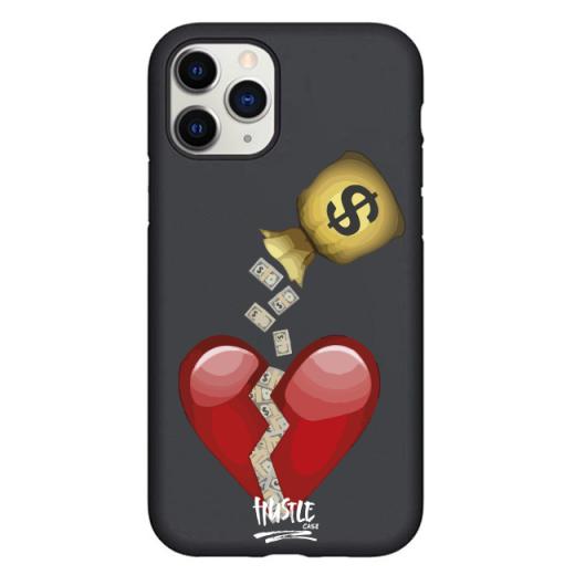 Чехол Hustle Case Money Not Love Black для iPhone 12   12 Pro