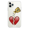 Прозрачный чехол Hustle Case Money Not Love Clear для iPhone 12 Pro Max