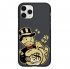 Чехол Hustle Case Monopoly Gold Black для iPhone 12 | 12 Pro