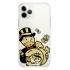 Прозрачный чехол Hustle Case Monopoly Gold Clear для iPhone 12 | 12 Pro