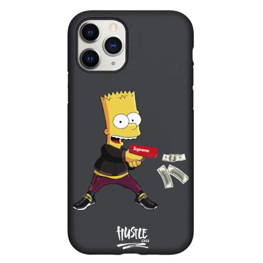 Чехол Hustle Case Bart Gun Black для iPhone 12   12 Pro