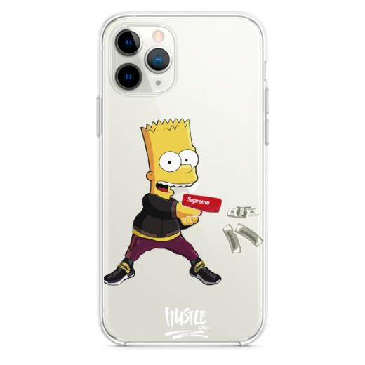 Прозрачный чехол Hustle Case Bart Gun Clear для iPhone 12 Pro Max