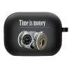 Силиконовый чехол Hustle Case Time is Money Black для AirPods Pro