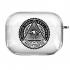 Прозрачный силиконовый чехол Hustle Case Mason Eye Clear для AirPods Pro