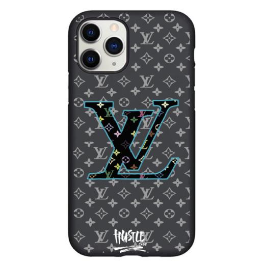 Чехол Hustle Case LV blue Black для iPhone 12 | 12 Pro