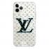 Прозрачный чехол Hustle Case LV blue Clear для iPhone 12 | 12 Pro