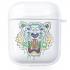 Прозрачный силиконовый чехол Hustle Case Kenzo Clear для AirPods 1 | 2