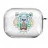 Прозрачный силиконовый чехол Hustle Case Kenzo Clear для AirPods Pro