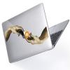 "Чехол-накладка Hustle Case Hands Btc=Auto Clear для MacBook Air 13"" (M1 | 2020 | 2019 | 2018)"