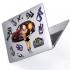 "Чехол-накладка Hustle Case Lola BTC Clear для MacBook Air 13"" (M1 | 2020 | 2019 | 2018)"