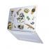 "Чехол-накладка Hustle Case Custom Matte Clear для MacBook Air 13"" (M1 | 2020 | 2019 | 2018)"