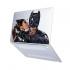 """Чехол-накладка Hustle Case Batman Love Matte Clear для MacBook Air 13"""" (M1   2020   2019   2018)"""