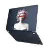 """Чехол-накладка Hustle Case Gorgona Black для MacBook Air 13"""" (M1   2020   2019   2018)"""