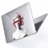 "Чехол-накладка Hustle Case Gorgona Clear для MacBook Air 13"" (M1 | 2020 | 2019 | 2018)"
