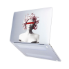 "Чехол-накладка Hustle Case Gorgona Matte Clear для MacBook Air 13"" (M1 | 2020 | 2019 | 2018)"