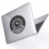 "Чехол-накладка Hustle Case Mason Eye Clear для MacBook Air 13"" (M1 | 2020 | 2019 | 2018)"