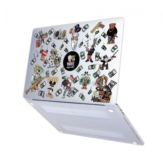 "Чехол-накладка Hustle Case Hustle Matte Clear для MacBook Air 13"" (M1 | 2020 | 2019 | 2018)"