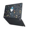 "Чехол-накладка Hustle Case Diamond Black для MacBook Air 13"" (M1 | 2020 | 2019 | 2018)"