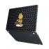 "Чехол-накладка Hustle Case Garfield Black для MacBook Air 13"" (M1 | 2020 | 2019 | 2018)"