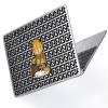 """Чехол-накладка Hustle Case Garfield Clear для MacBook Air 13"""" (M1   2020   2019   2018)"""