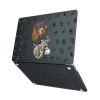 """Чехол-накладка Hustle Case Bear Black для MacBook Air 13"""" (M1   2020   2019   2018)"""