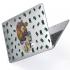 "Чехол-накладка Hustle Case Bear Clear для MacBook Air 13"" (M1   2020   2019   2018)"