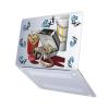 "Чехол-накладка Hustle Case Ice Big Mac Matte Clear для MacBook Air 13"" (M1 | 2020 | 2019 | 2018)"
