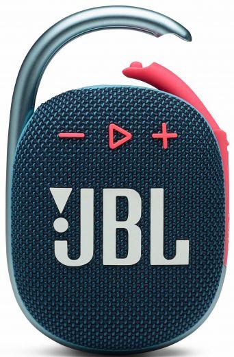 Акустика JBL Сlip 4 Blue and Pink (JBLCLIP4BLUP)
